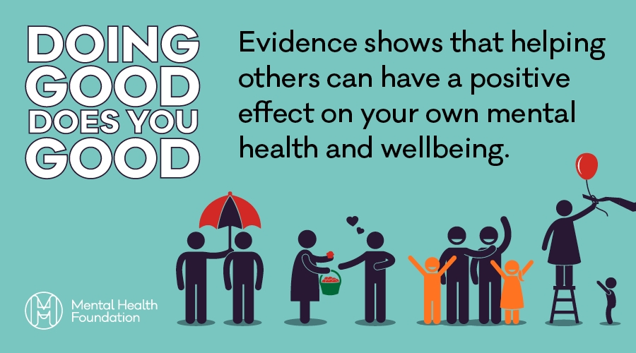 What are the health benefits of altruism?