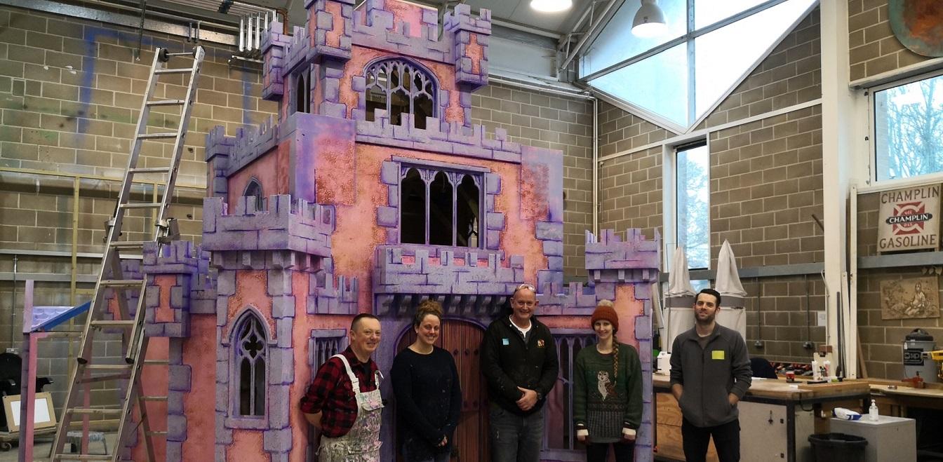 Magical Christmas Castle