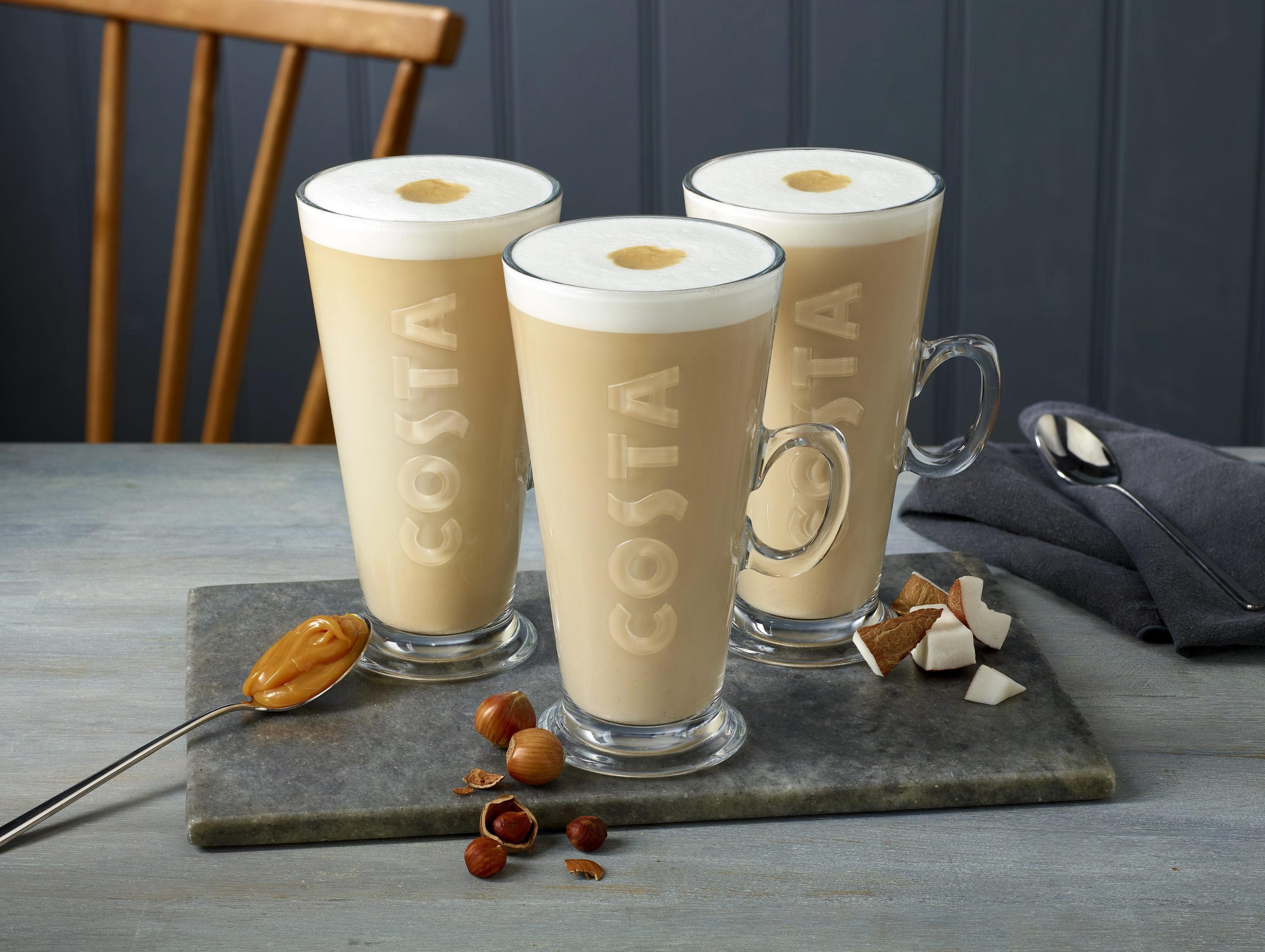 Costa New Latte Range