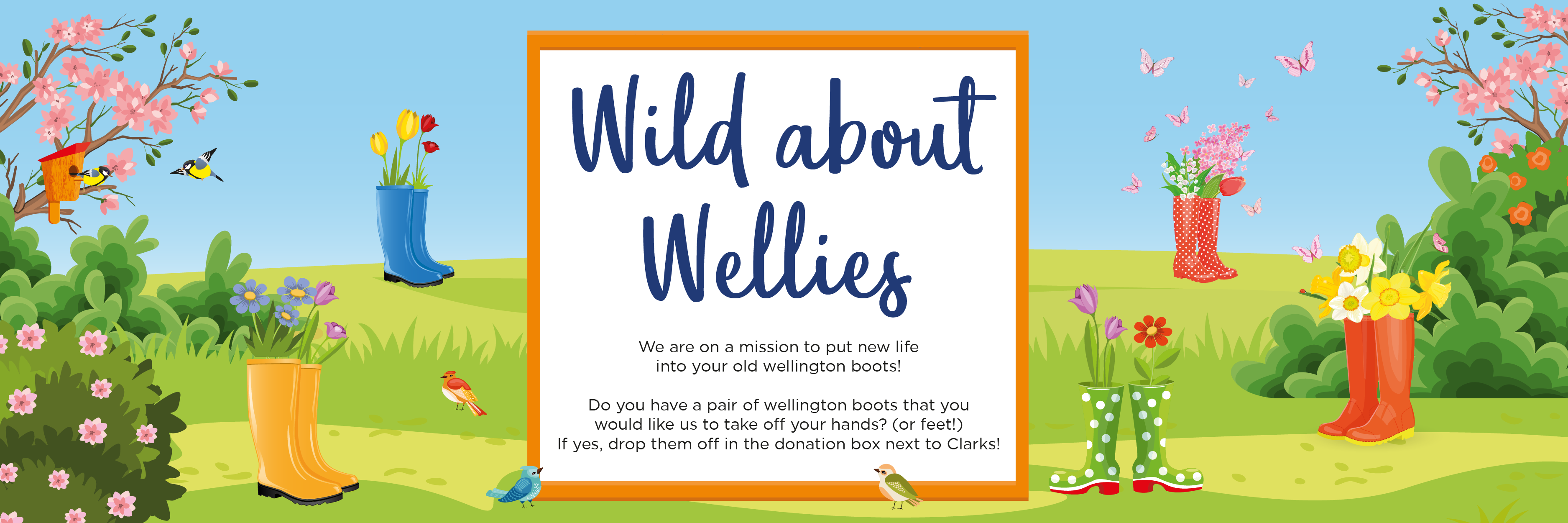 Wild about Wellies